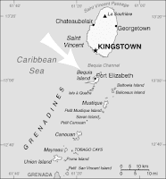 grenadines map bequia