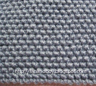 moss stitch free pattern