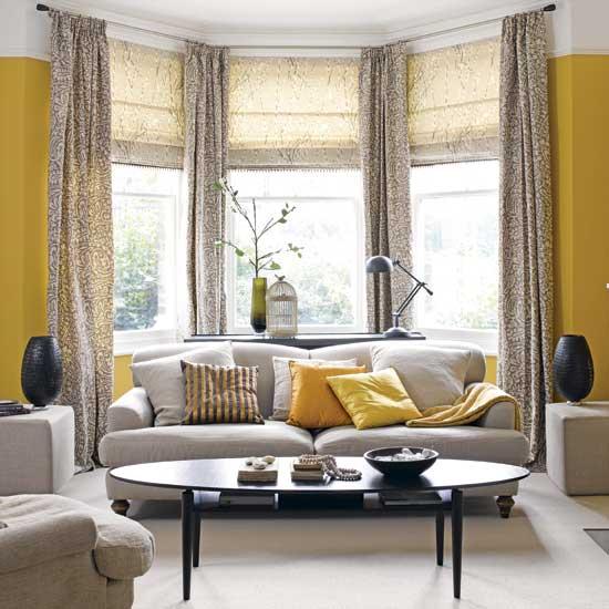 Yellow Room: Sunrise To Sunset: Interior Design
