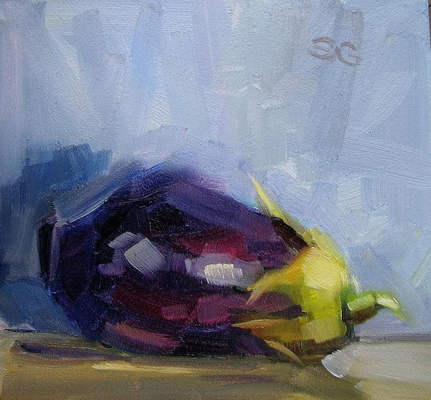 Sandra Galda' Oil Painting November 2009