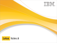 IBM splash Screen for Lotus Notes R8
