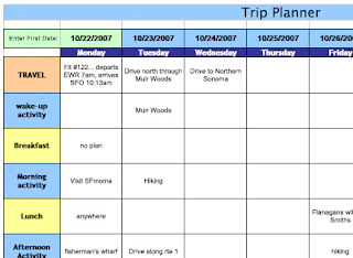 Jr says whether or not anyone is listening planning for Trip calendar planner template