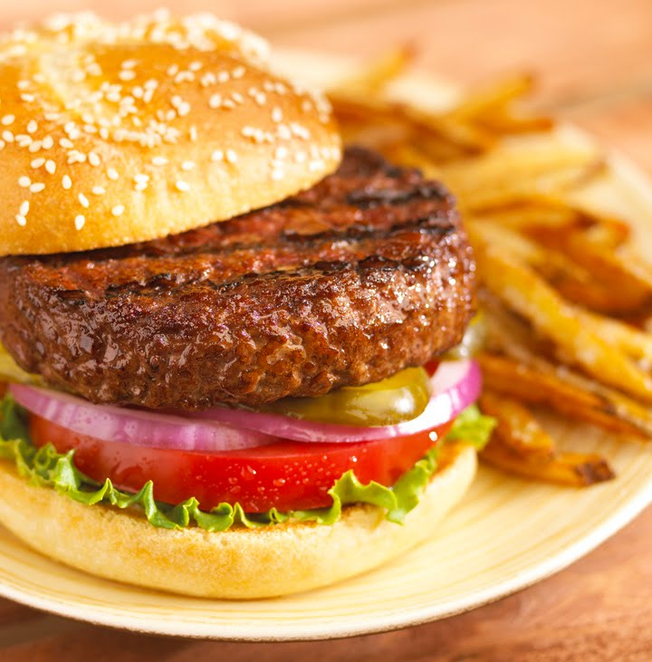 Stern Burger With Fries: SEIU Burger With Fries, For Real
