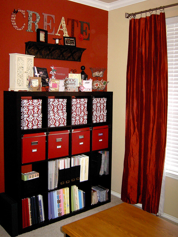By Your Hands: Organized Craft Room Photos