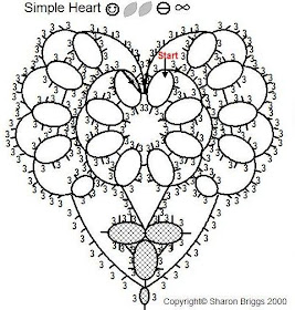 Sharon's Tatted Lace: Simple Heart