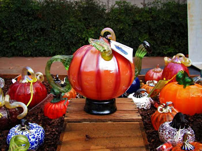 Beautiful pumpkin made of glass Seen On www.coolpicturegallery.us