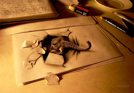 Awesome 3D Drawings by Chilean artist Fredo