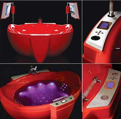 Creative bathtubs