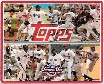 Schmidt Happened 2008 Topps Opening Day Puzzle Cards