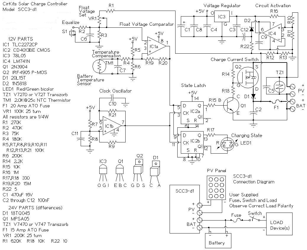 Battery Solar Array Wiring Diagram
