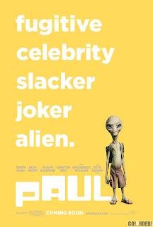 paul movie poster tagged 001 - Paul vendrá a hacernos reír el próximo año!