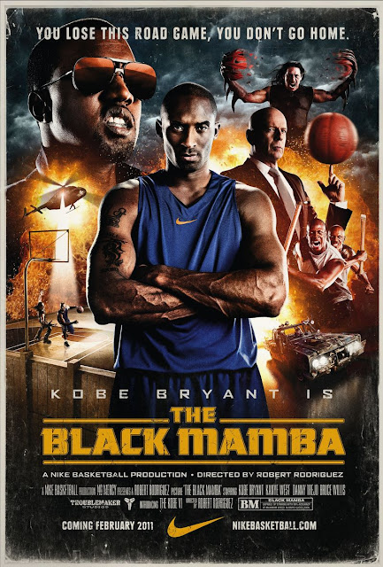 The Black Mamba Poster - Kobe Bryant+ Robert Rodriguez= Nike!