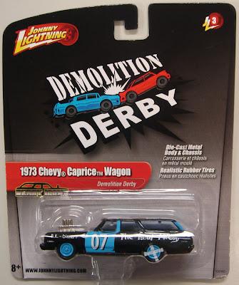 Johnny Lighting Demolition Derby Car's — TOUR OF DESTRUCTION