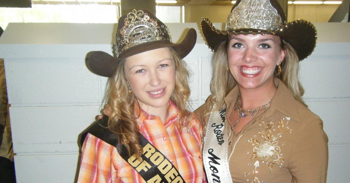 Miss Rodeo Montana 2009 Cody Livingston And Calgary