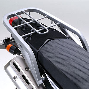 The New Xt250 Rear Luge Rack Does Double Duty First It Provides A