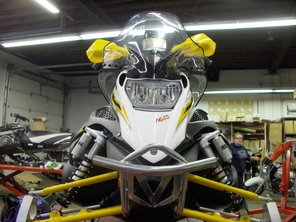 Fx nytro clear windshield with for Yamaha nytro xtx accessories