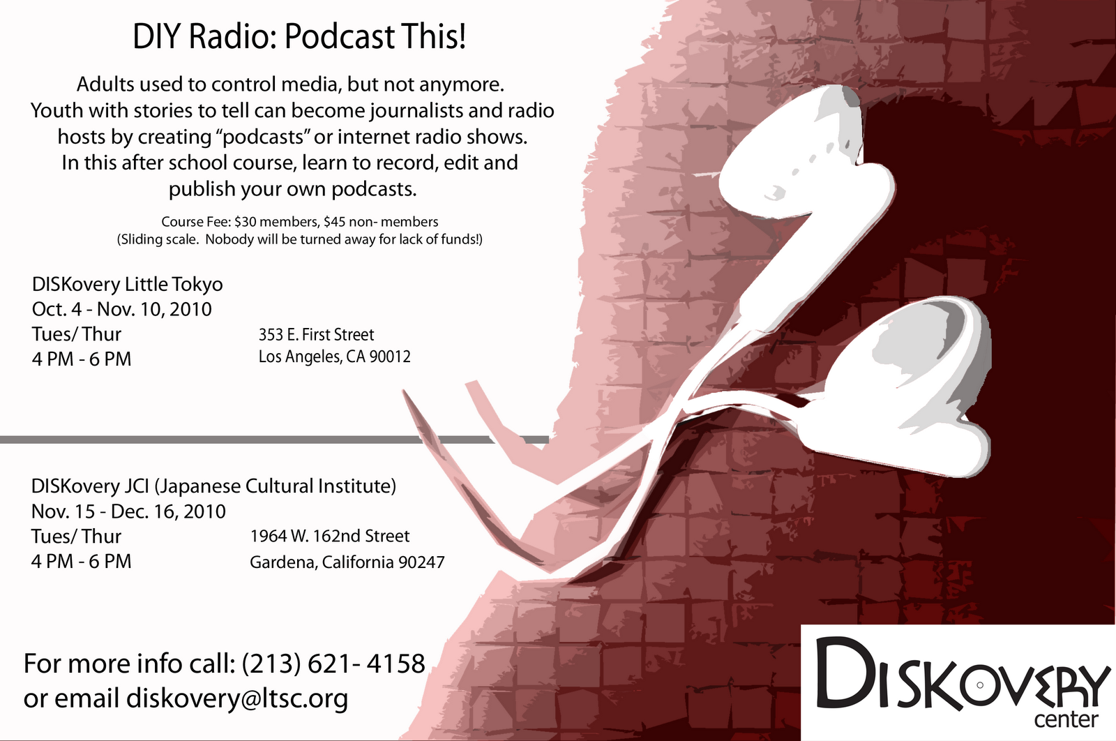 Little Tokyo UnBlogged: DIY Radio: Podcast This! New Youth