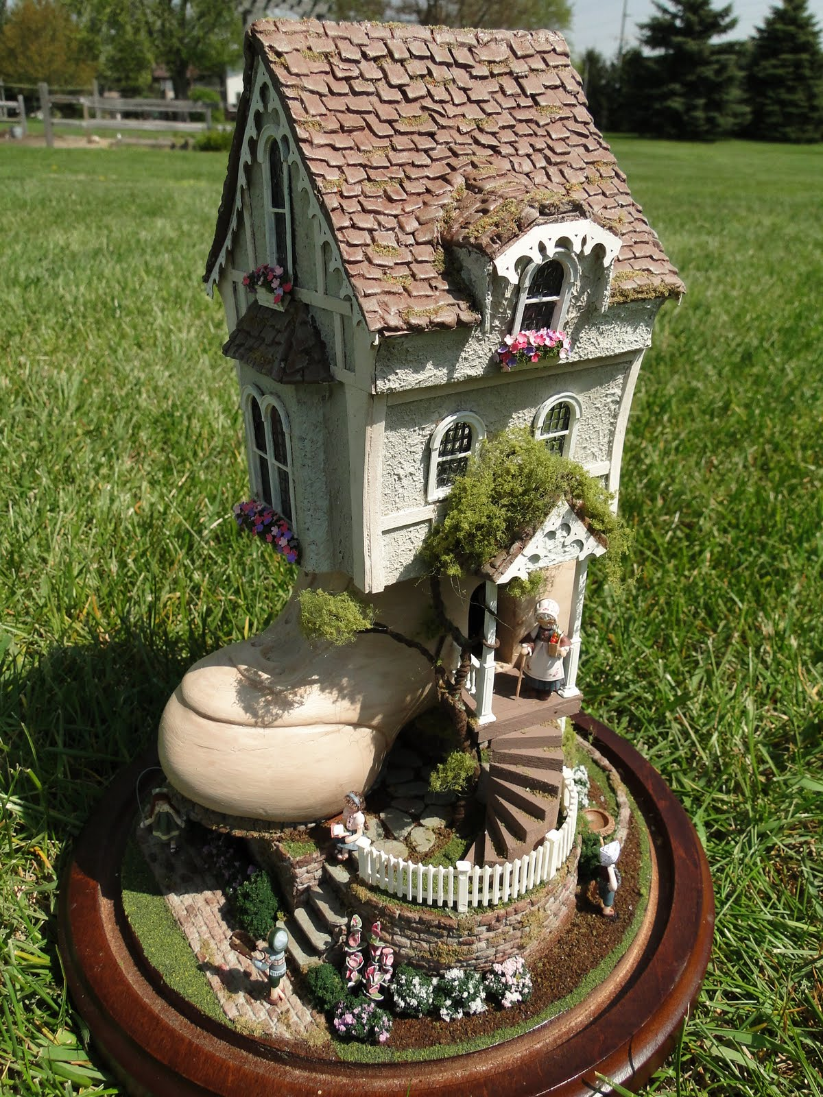 Never Enough Time Finished Old Shoe House