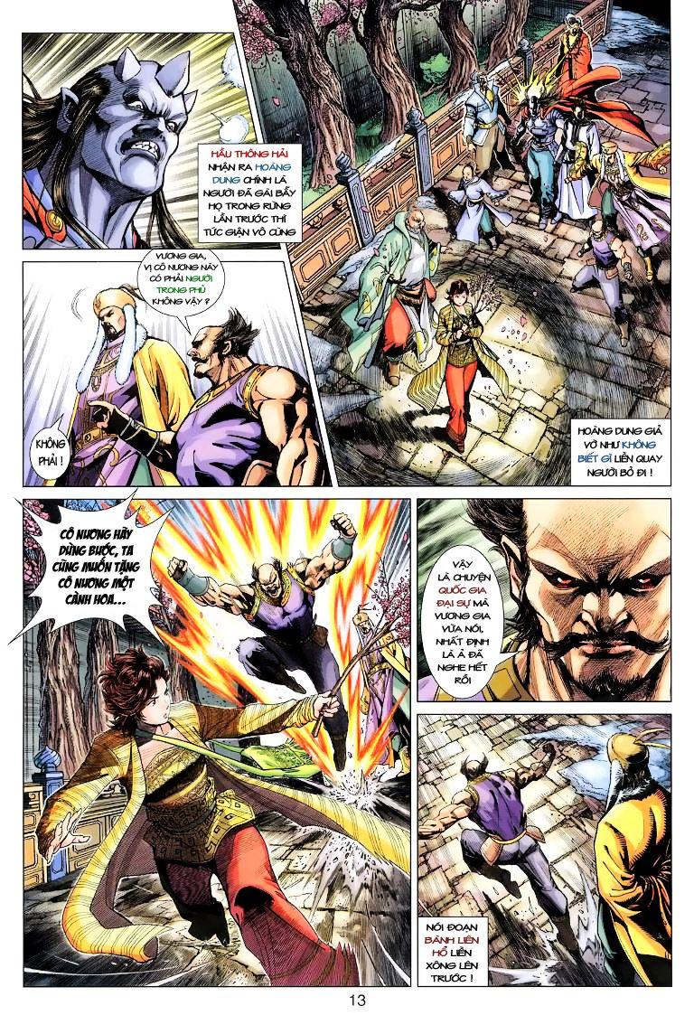 Anh Hùng Xạ Điêu anh hùng xạ đêu chap 11 trang 13