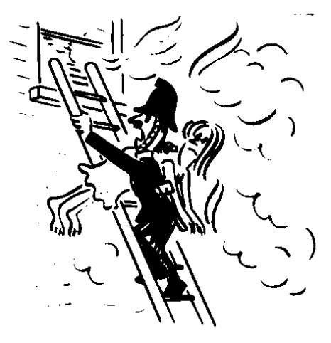 LONDON FIRE JOURNAL: FIRE STRIKES