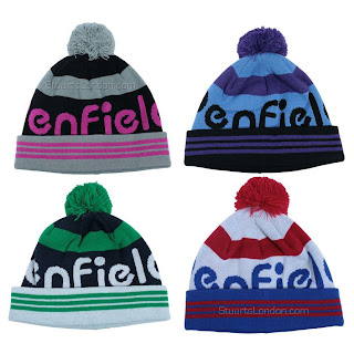 a88794db The Fila Vintage Snow Time Hat now has some competition. If a bobble hat is  more his thing then get him the The Penfield Sanford Bobble Beanie - now ...