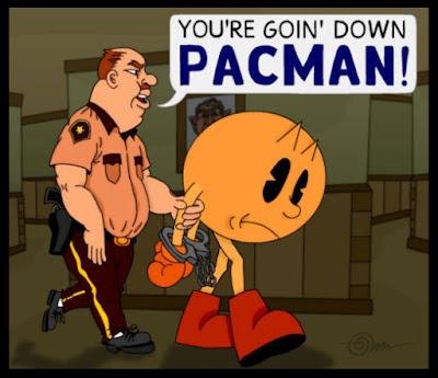 Pacman arrested