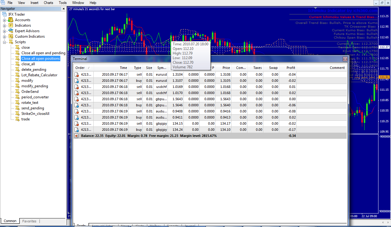 Forex Pending Order Script « Practice online trading while