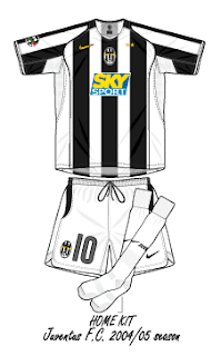 e7daab13c Football teams shirt and kits fan  Juventus FC Serie A 2004-05 ...