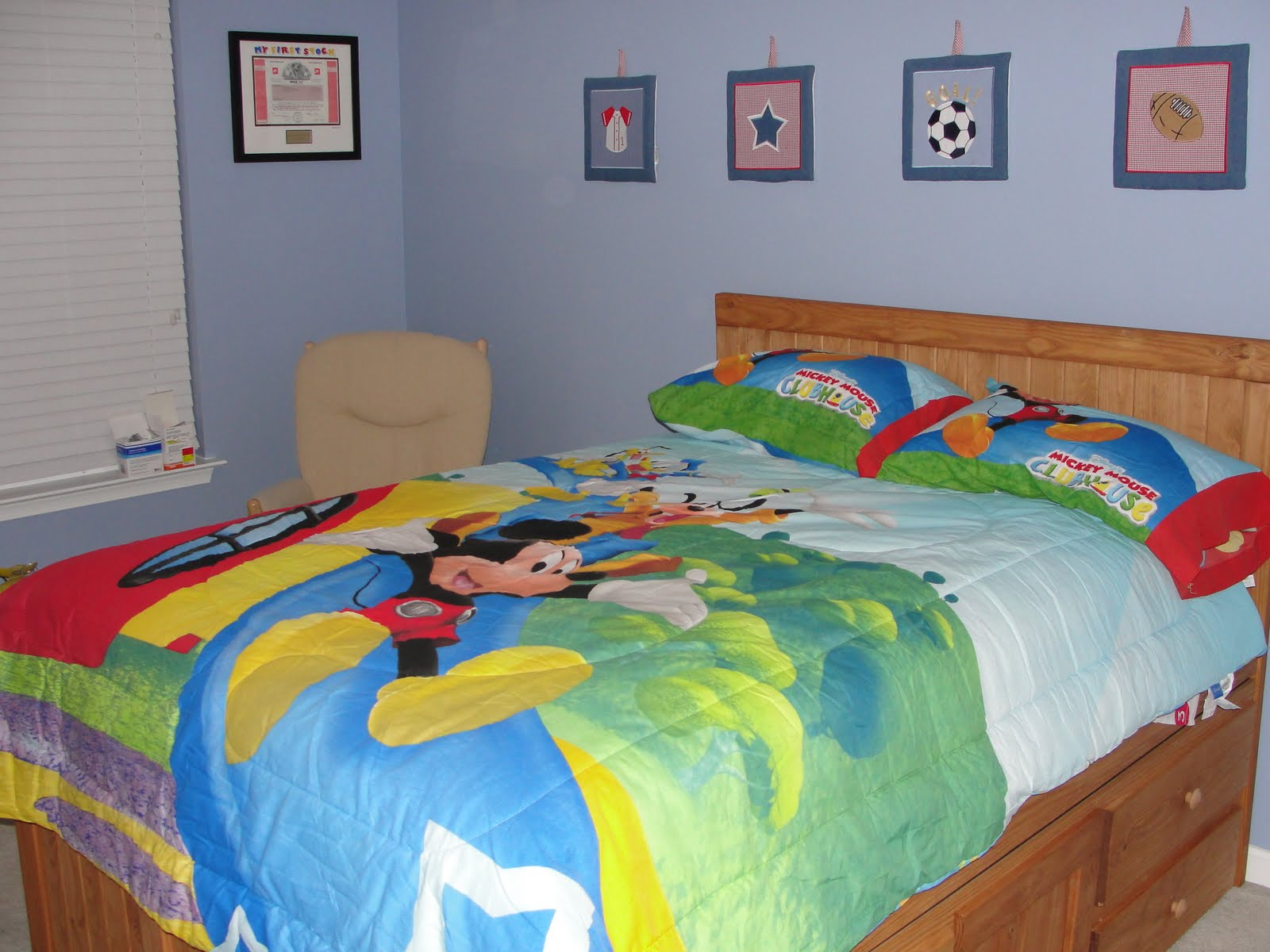 Mickey Mouse Clubhouse Bedroom Ideas
