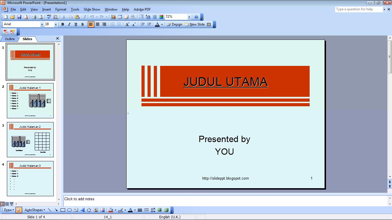 Template For Powerpoint 2007