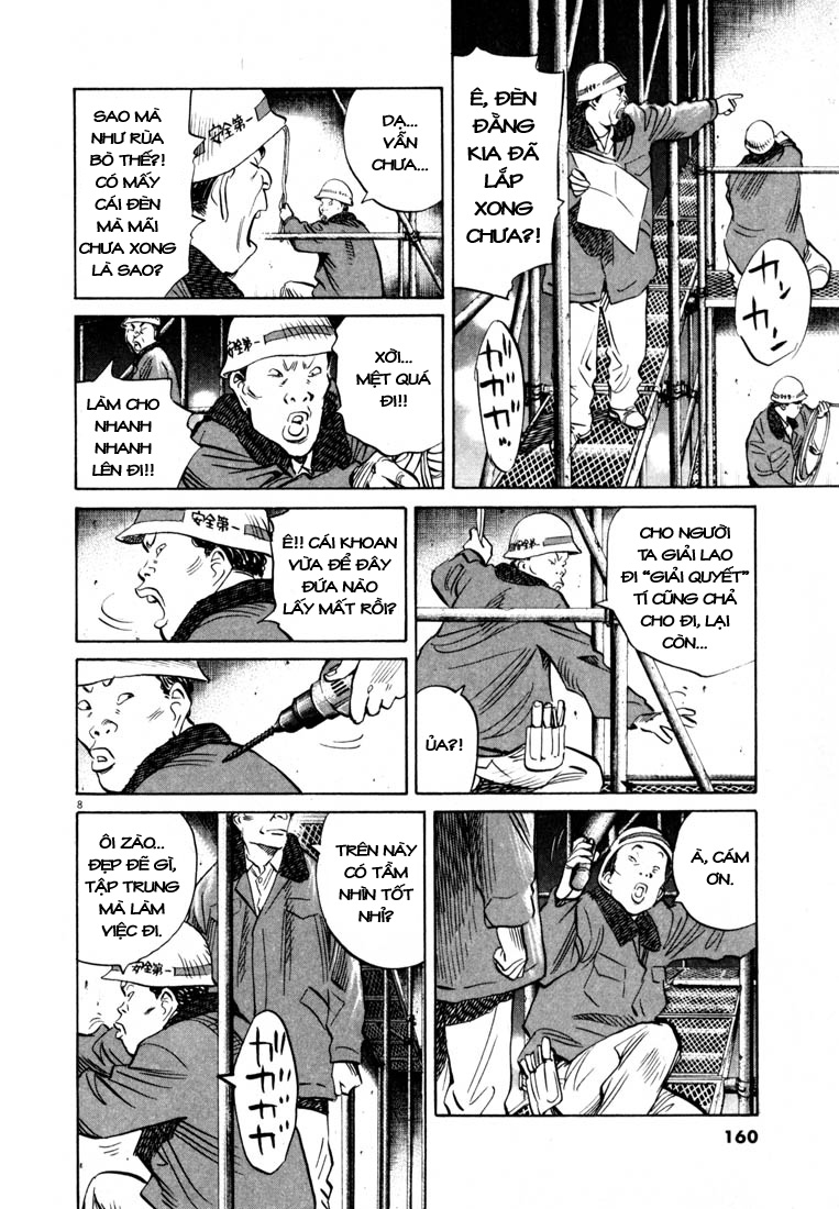 20th Century Boys chapter 166 trang 17