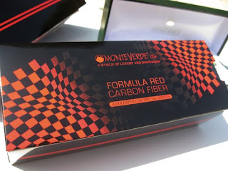 Monteverde Invincia Formula Red Carbon Fiber Exclusive Edition