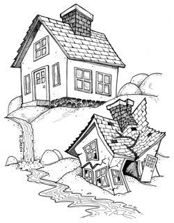 Organized Doodles: House On Rocks vs House On Sand