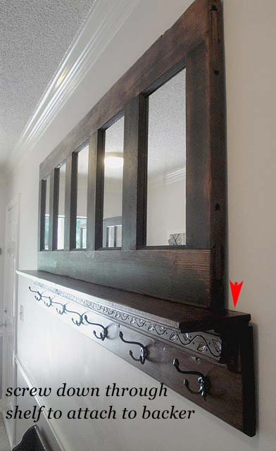 Coat Rack Made From An Old Door Pretty Handy Girl