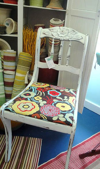 Old Blue Chair Desk 22 Inch Seat Height The Painted Cottage - A Tour Of My Favorite Store At Beach Pretty Handy Girl