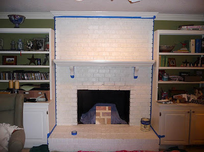 Build a fireplace insert draft stopper a lowes creator idea painting brick fireplace from white to beautiful brownstone solutioingenieria Choice Image