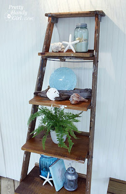 Ladder Display Shelves