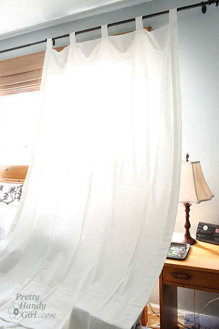Hanging curtains and no iron solution to wrinkles pretty handy girl save solutioingenieria Image collections