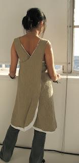 Cross Back Apron Dress Pattern   Free Sewing Pattern