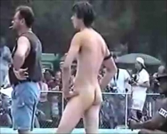 Mister nude contest happens... Logically