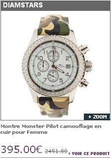 2583b02a1a DIAMSTARS chez Brandalley. Espacemax, Fruitrouge, Happy Few, Venteenor,  Fashion Paradise, tous les sites ont un jour ou l'autre vendu des montres  Diamstars.