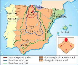 Resultado de imagen de EL ORIGEN DEL CASTELLANO