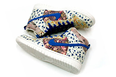 Nike Liberty X MILKFED Womens Dunk High Premium. Nike has teamed up with  Liberty again on another Dunk High 4e37ebd932ae