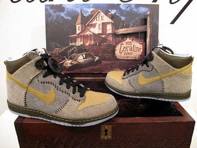 best website b639b a6273 Nike X Coraline Dunk- Wooden Box Edition