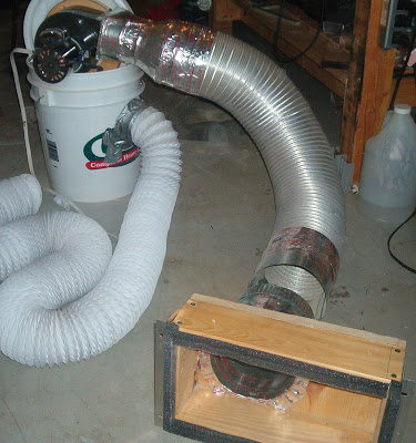 Furnace Blower Dust Collector