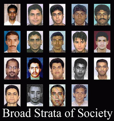 9/11 Terror Cells - A Broad Strata of Society