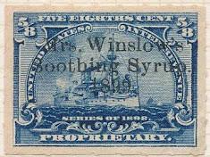 Anglo-American Drug Printed Cancels