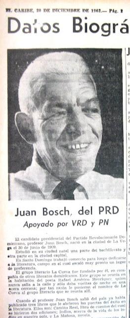 """JUAN BOSCH : CUENTO """"EL SACRIFICIO"""""""