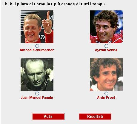 Votação: Melhor piloto de todos os tempos da F1  (foto: divulgação)
