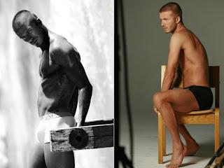 David Beckham estrela campanha de cueca Armani